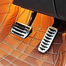 XE f-pace X761car-styling Edelstahl Bremse Kraftstoff Gas Pedal Pedales Verkleidung Zubehör
