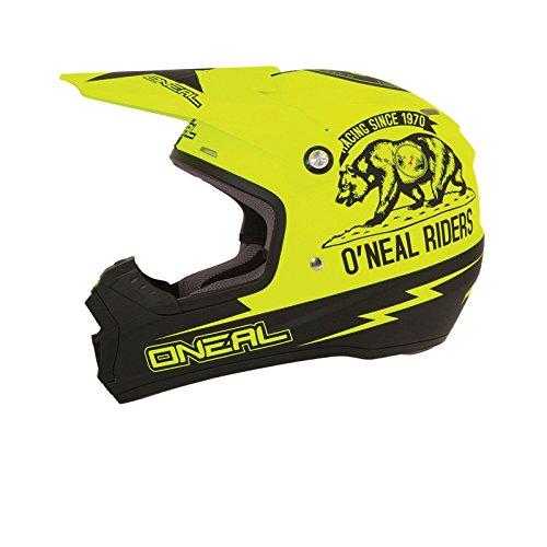 O'Neal 5Series MX Helm California Neon Gelb Motocross Enduro Cross Motorrad Helm, 0618C-20, Größe Medium (57-58 cm)