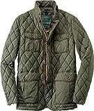 Henry Cotton's Herren Steppjacke Daunen Modisch Unifarben, Größe: 52, Farbe: Grün