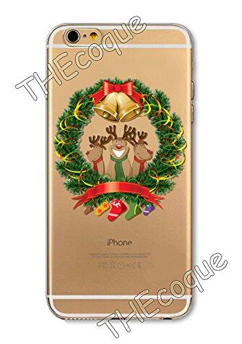 Coque RIGIDE de qualite IPHONE 4/4s - Joyeux Noel christmas cadeaux hiver drole design Swag motif 6 DESIGN case+ Film de protection OFFERT 5