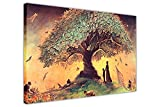 Canvas It Up ABSTRACT CANVAS WALL ART PRINTS WISHING TREE PICTURES POSTER PRINT CONTEMPORARY ART