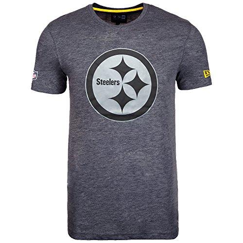 teelers Tee/T Shirt NFL Two Tone Graphite - M ()