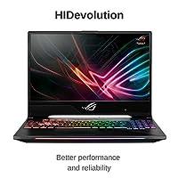 "Gaming Laptop, HIDevolution ASUS ROG Strix GL504GS Scar 15.6"" FHD 144Hz, 2.2 GHz i7-8750H, GTX 1070, 16GB DDR4/2666MHz RAM, PCIe 1TB SSD + 1TB SSHD, Authorized Performance Upgrades & Warranty"