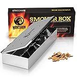 Mountain Grillers Affumicatore Box per BBQ in Acciaio Inox - Smoke Box per...