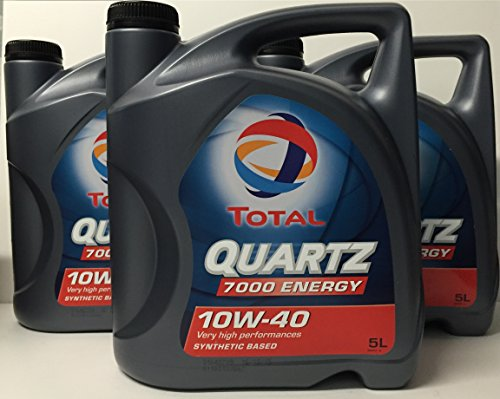 Lubricante motor TOTAL QUARTZ 7000 ENERGY 10W-40 15