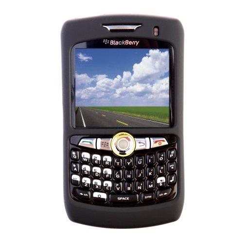 Seidio Blackberry (Seidio Surface Schutzhülle für BlackBerry Curve 8350i, Schwarz)