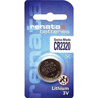 Aboutbatteries 270005 Lithium 3 V Non-rechargeable Battery - non-rechargeable batteries (Lithium, Button/coin, 3 V, CR2320, 150 mAh)