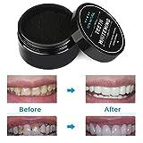 Ouneed® Zahnaufhellung,Teeth Whitening Powder Natürliche Organische Aktivkohle Bambus Zahnpasta