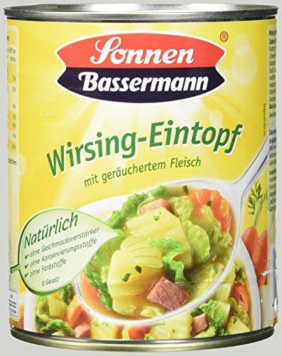 Sonnen Bassermann Wirsing-Topf , 3er Pack (3 x 800 g Dose)