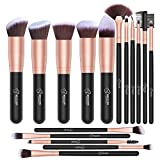 Best BESTOPE Powder Foundation - Makeup Brushes BESTOPE 10PCs Professional Make Up Brushes Review