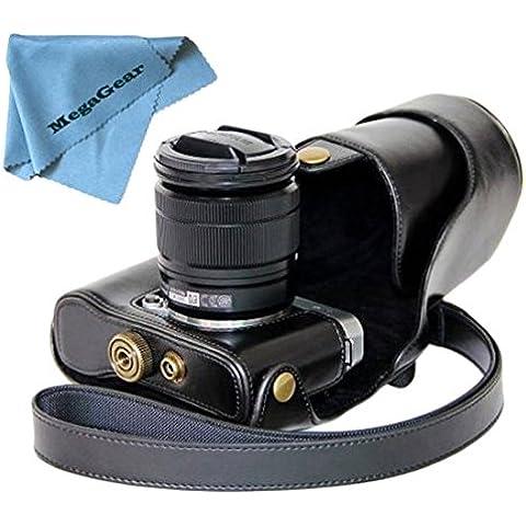 MegaGear Ever Ready - Funda para cámara compacta Fujifilm X-M1, color negro