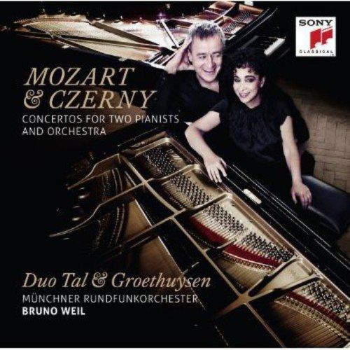 Mozart & Czerny: Konzerte für 2 Pianisten & Orchester - Czerny Sinfonie