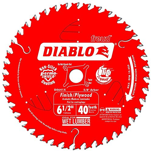 Diablo Carbide Tipped Circular Saw Blade-6-1/2