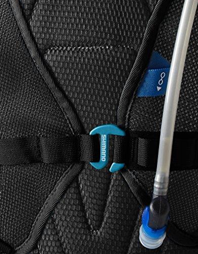Shimano Rucksack Unzen II Schwarz/Lightning Blau