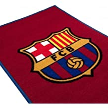 F.C. Barcelona Rug- bedroom rug- approx 80cm x 50cm- 100%Polyamide- machine washable- on a header card- official licensed product by Barcelona F.C.