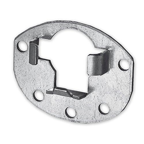 Anschraublager für Kugellager Ø = 40 mm, Rolladen, Ablagerung, Abstand Schraublöcher: wahlweise 61 mm oder 40 mm, von EVEROXX®