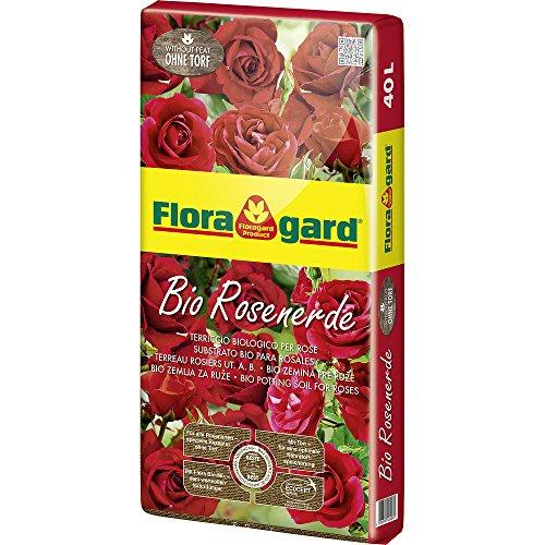 Floragard Bio Rosenerde ohne Torf 1x40l