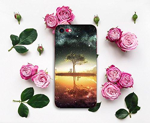 Pacyer® iPhone 7 Custodia Cielo Stellato Transparente TPU Gel Silicone Protettivo Skin Shell Case Cover Per Apple iPhone 7 (4.7) 6
