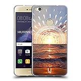 Head Case Designs Sonnenuntergang Traum Doodle Soft Gel Hülle für Huawei P8 Lite (2017)