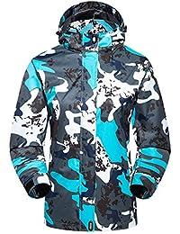 Chaquetas Camo Jacket Mens Jacket Ropa casual para hombres nuevos de primavera y otoño ( Color : Blue , tamaño : XXXXXL )