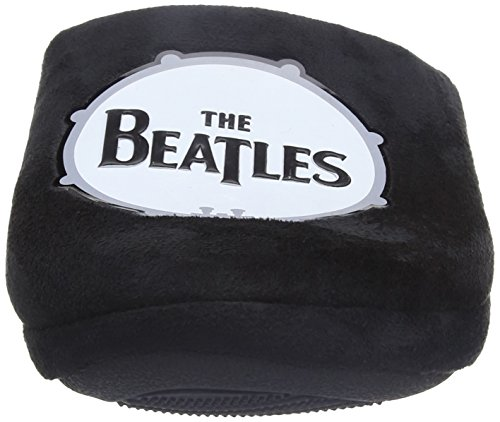 Bafiz Herren the Beatles Drum Slipper Pantoffeln Schwarz (Black 005)