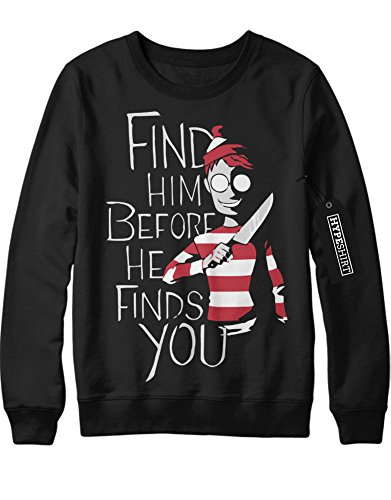 Sweatshirt Where`s Wally
