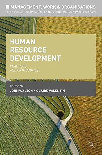 Human Resource Development: Practices and Orthodoxies (Management, Work and Organisations)