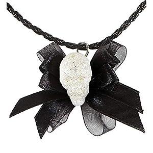WIDMANN Collar glitter Calavera con lazo adulto Halloween