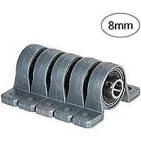 Rodamiento de bloque de almohada 5pcs Rodamiento de almohada montado en bola interior Rodamientos de bloque de almohada montado Rodamiento en miniatura de soporte de rodamiento de impresora 3D con