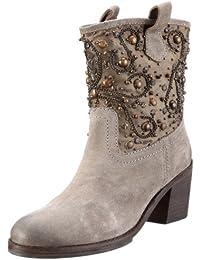 Coral Blue Cbk 312011 Lea, Boots femme - Noir (Black), 36 EU