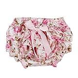 B Blesiya baby Slip/Windelslip/Unterwäsche/Unterhose für Mädchen - Rose, 6-12M