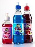 Product Image of Blue Raspberry & Strawberry Slushie Syrups, w/FREE Pink...