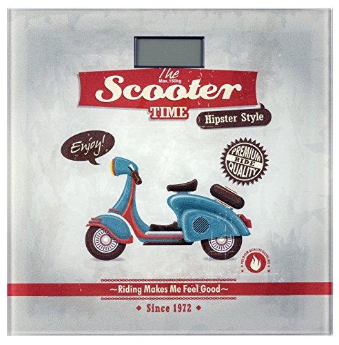 bascula baño vintage scooter 21594