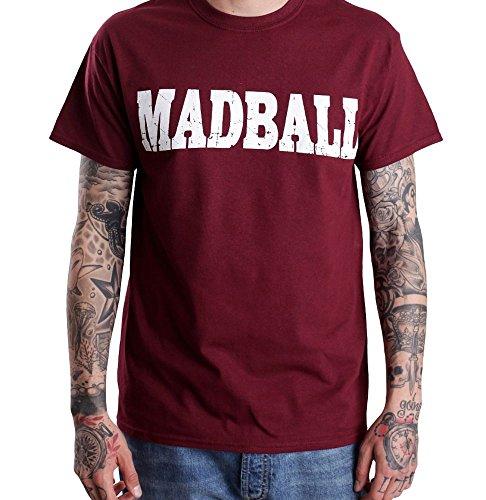 Madball - Enemies Burgundy - T-Shirt-X-Large
