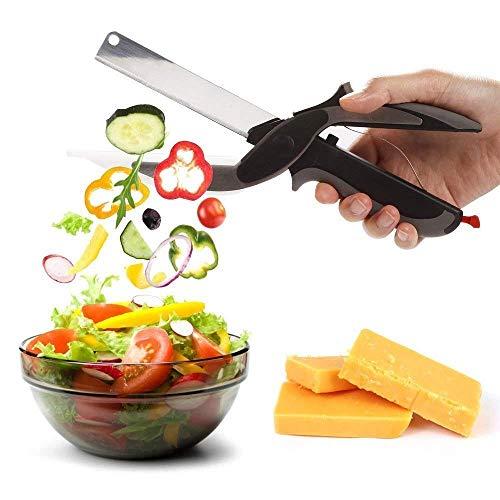 Tijeras acero inoxidable cortador alimentos verduras