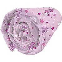 CTI 044202 Univers-Sábana bajera infantil, diseño de Soy Luna, 190x 90cm, color rosa