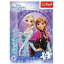 Puzzle mini 54 W krainie lodu Anna i Elza