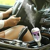 HuntGold Auto Mini Luftbefeuchter Luftreiniger Lufterfrischer Ätherisch Öl Diffusor Violett