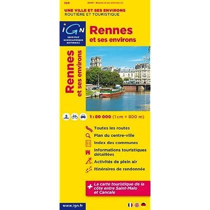 88410 Rennes et Ses Environs 1/80.000