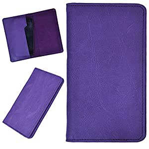 DCR Pu Leather case cover for One Plus 1 (purple)