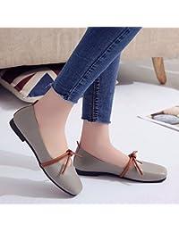 GAOLIM Una Zapatilla De Corte Bajo Fondo Plano Solo Zapatos Zapatos Zapatos De Mujer En El Verano Pequeño Estudiante...