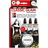 Marabu 171800081 - Fashion Shimmer, Classic Glam Set, 3 x 100 ml, bunt