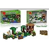 Akrobo 44047 406 Pcs Classic My World Mine Craft Model Building 3D Block Set Learning Toy For Kids