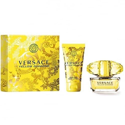 Versace Pinsel (Versace Yellow Diamond 30 ml Eau de ToiletteS + 50 ml Körperlotion)