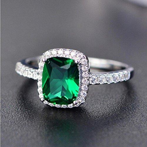 Hunpta@@@ – 1 Anillo Compromiso Plata Ley 925 Diamantes