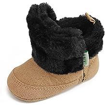 47fc4c47968ac DELEBAO Scarpe Neonato Stivaletti Bambina Invernali Suola Morbida Scarpe  Bimba con Pelo Calzature per Bambini Ragazzi