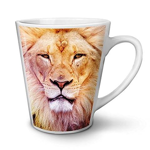 ernst Alt Löwe Gesicht Katze NEU Weiß Tee Kaffe Keramik Latté Tasse 12 oz | Wellcoda (Rock Im Park T Shirt)