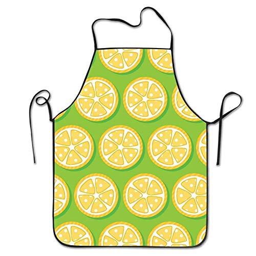 LarissaHi Benutzerdefinierte Koch Schürze süße Zitrone lustige Überhand Nähen Werkzeug für Frauen Männer Kellnerin Backen basteln Garten Kochen Girlling Barber - Benutzerdefinierte Kostüm Schmuck Designs