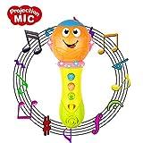 CITOY Juguete para niñas de 12-24 Meses, Micrófono Juguete para niños de 1-3 años Regalo de cumpleaños para bebés para niñas de 1-3 años Juguete para bebés de 9-18 Meses