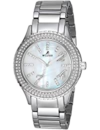 WESTAR Analog Mother of Pearl Dial Women's Watch - 0378STN111